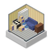 10x10 Lakeland Storage Unit