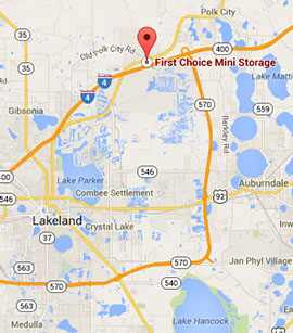 Lakeland Florida Map.Storage Lakeland Fl Best Self Storage Prices Rv Storage